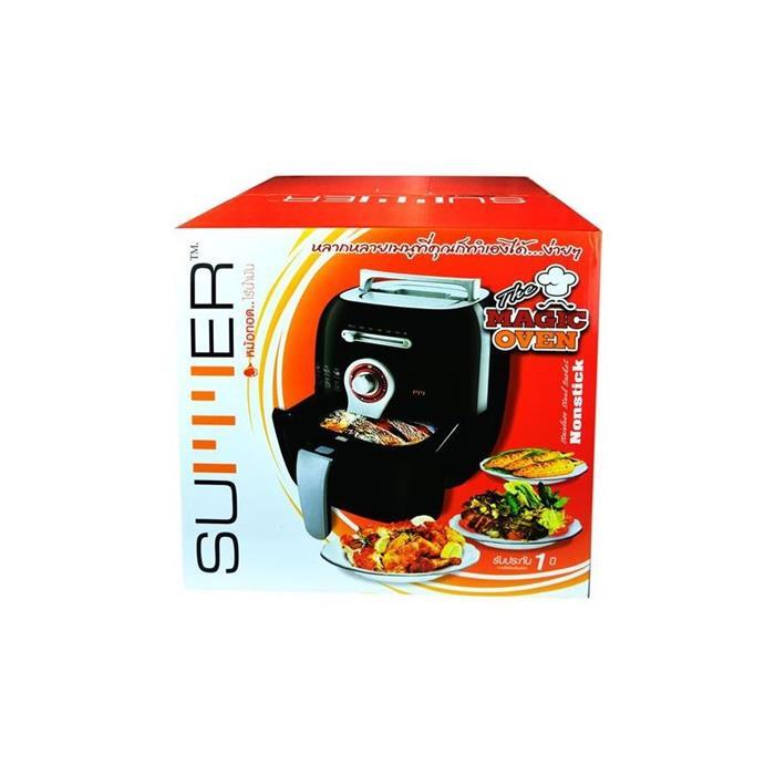 22511010002_MO-4074B SUMMER Magic Oven หม้อทอดไร้น้ำมัน – สีดำ_กล่อง_หน้าตรง_1