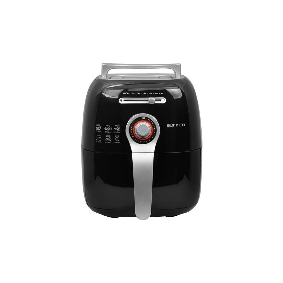 22511010002_MO-4074B SUMMER Magic Oven หม้อทอดไร้น้ำมัน – สีดำ_หน้าตรง