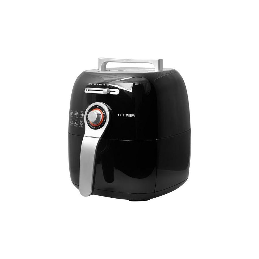22511010002_MO-4074B SUMMER Magic Oven หม้อทอดไร้น้ำมัน – สีดำ_45องศา